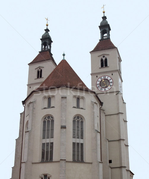 Neupfarrkirche in Regensburg Stock photo © prill