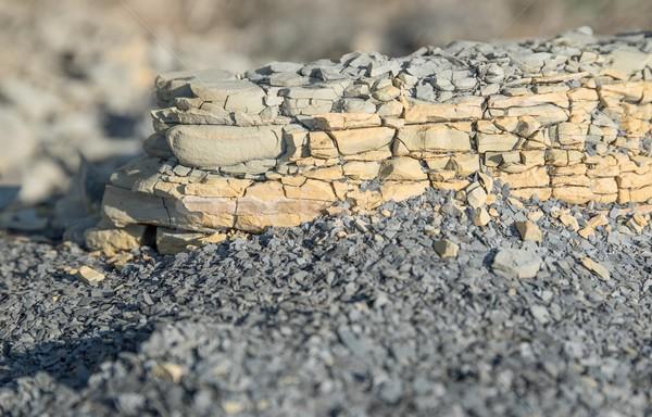 brittle stone Stock photo © prill