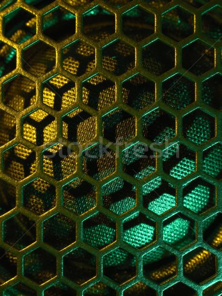 illuminated loudspeaker grid Stock photo © prill