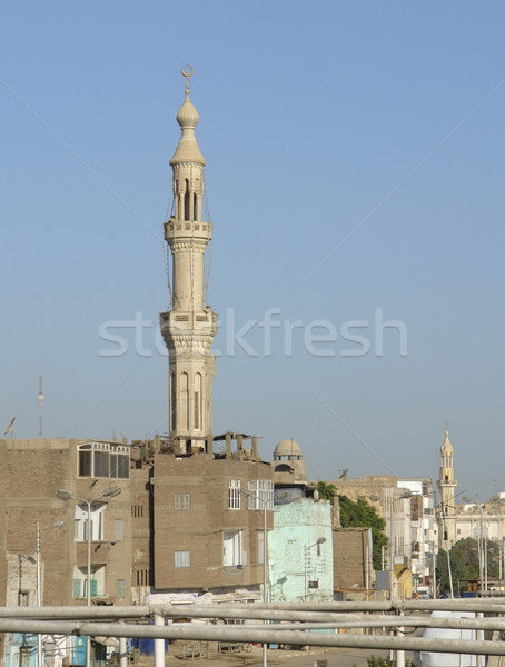 architecture in Egypt Stock photo © prill