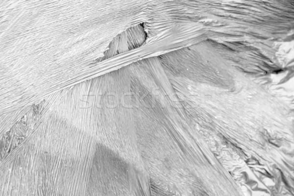 rundown plastic film Stock photo © prill