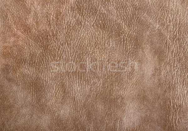 ストックフォト: 革 · 表面 · フルフレーム · 抽象的な · ブラウン · 背景