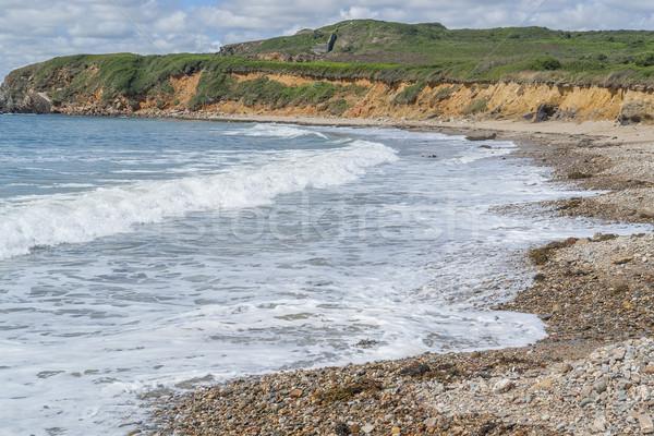 Félsziget tengerparti díszlet víz tenger óceán Stock fotó © prill