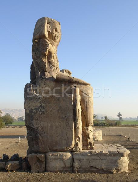 Colossi of Memnon Stock photo © prill