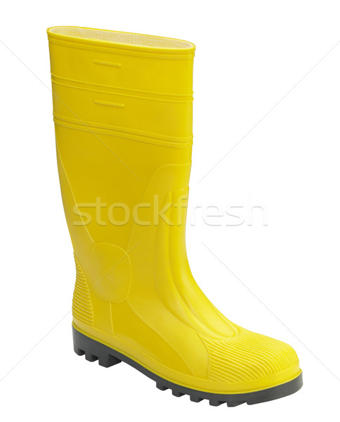 yellow gumboot Stock photo © prill