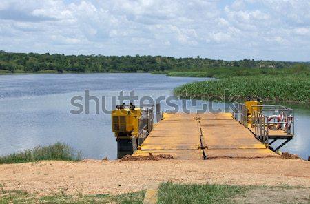 Nile scenery in Uganda Stock photo © prill