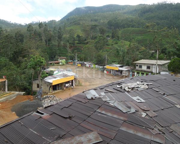 settlement in Sri Lanka Stock photo © prill
