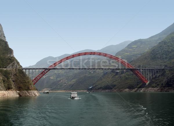 Stock photo: bridge over Yangtze River