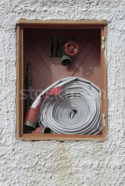 firefight equipment in a wall Stock photo © prill