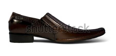 mens shoe sideways Stock photo © prill