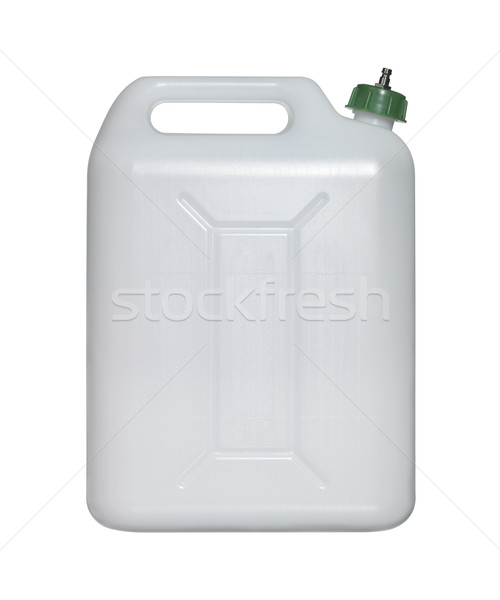white canister with green closure Stock photo © prill