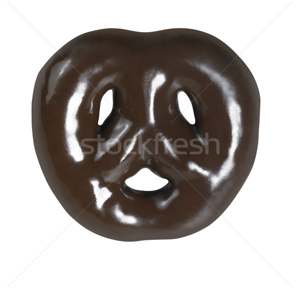 glossy brown gingerbread Stock photo © prill