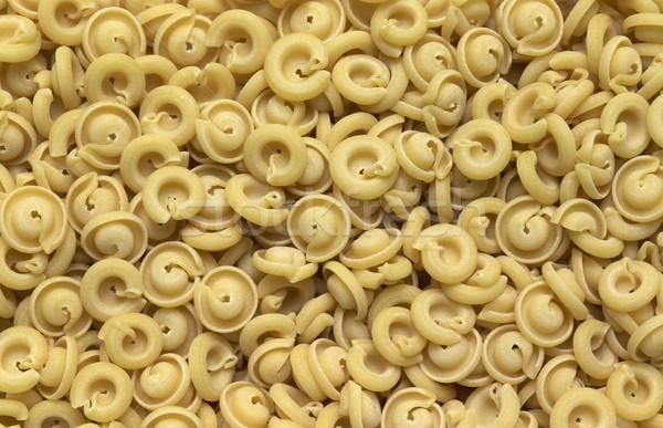 Italiana pasta full frame abstract insieme piatto Foto d'archivio © prill