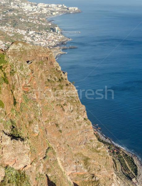 ストックフォト: 島 · マデイラ · 風景 · ビーチ · 市