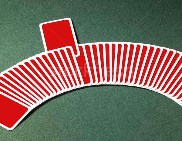 Cartas de jogar estúdio fotografia fora um Foto stock © prill
