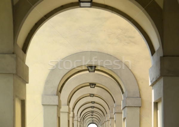 Photo stock: Détail · architectural · FLORENCE · Italie · construction · pierre · architecture