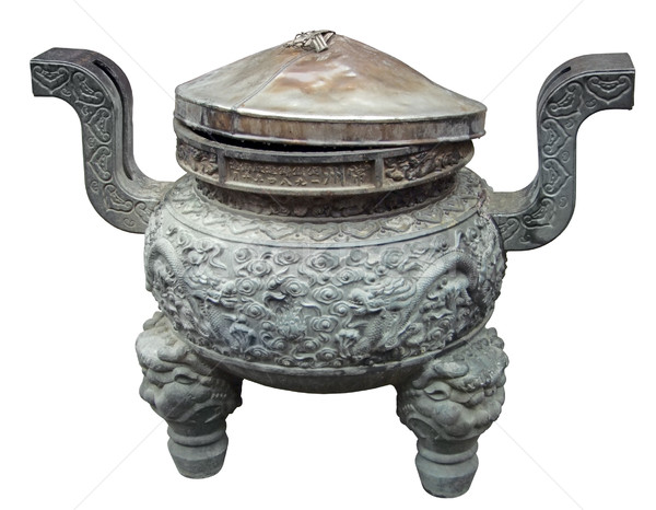 bowl at the Jade Buddha Temple Stock photo © prill