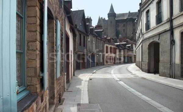 дома стены улице лет замок Сток-фото © prill