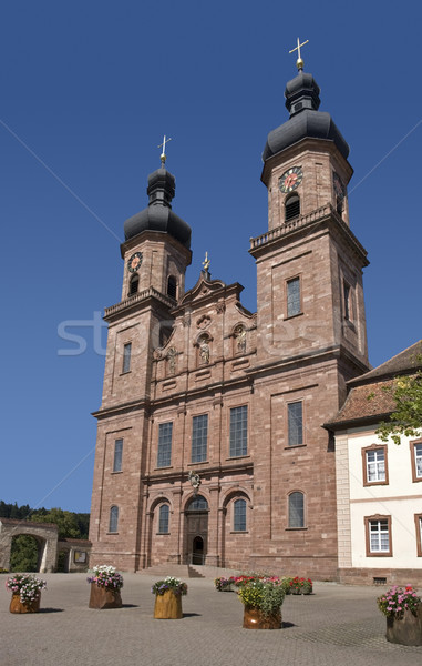 Abbey of Saint Peter in the Black Forest Stock photo © prill