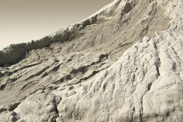 Zemin erozyon detay sembolik resim Stok fotoğraf © prill