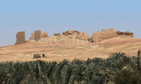 ruin in Egypt Stock photo © prill