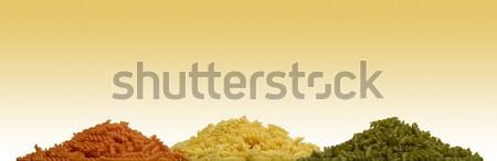 noodle piles Stock photo © prill