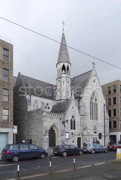 小 教会 ダブリン 市 アイルランド 家 ストックフォト © prill