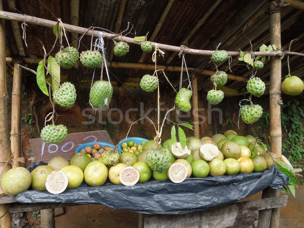fruit stand Stock photo © prill