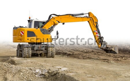 yellow digger Stock photo © prill