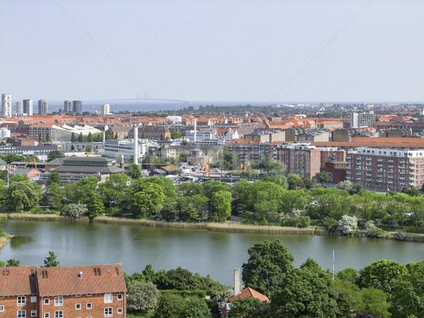 Copenhague Dinamarca cidade viajar urbano Foto stock © prill