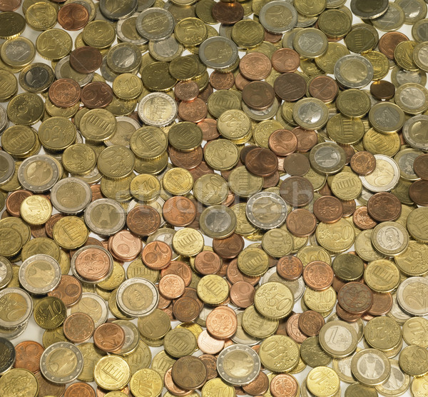background with euro coins Stock photo © prill