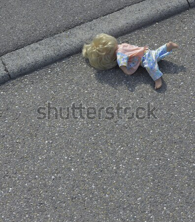 doll on the street Stock photo © prill