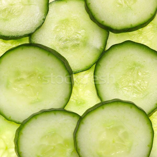 sliced cucumber Stock photo © prill