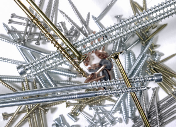 lots of screws Stock photo © prill