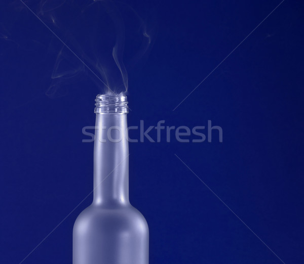 blue bottleneck Stock photo © prill