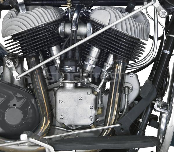 Motor motor detail shot tonen macht Stockfoto © prill