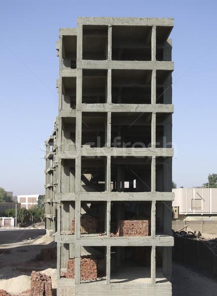 structural work near Esna Stock photo © prill