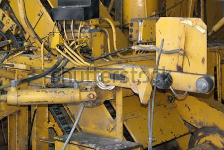 Nehéz gép full frame nehézgépek részlet gép Stock fotó © prill