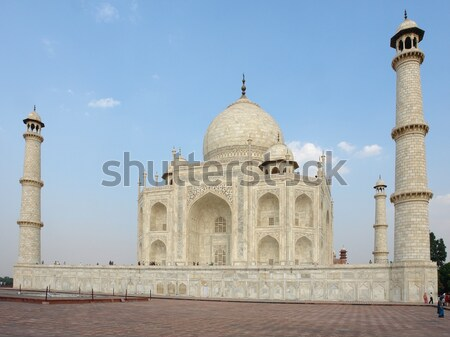 Тадж-Махал дома окна каменные белый мрамор Сток-фото © prill