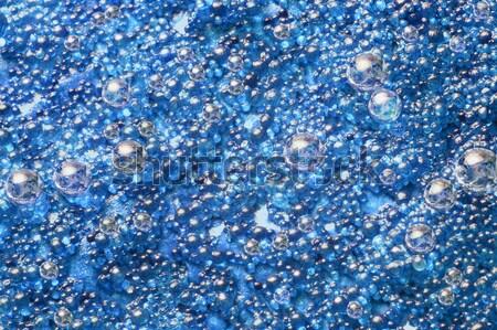 Mavi soyut bilim küçük Stok fotoğraf © prill