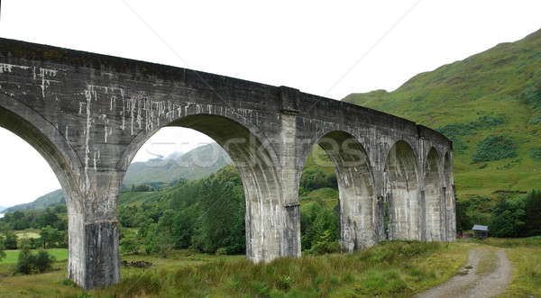 detail of the Glenfinnan Viaduct Stock photo © prill