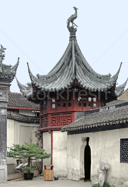 Yuyuan Garden in Shanghai Stock photo © prill