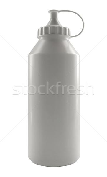 white plastic paint bottle Stock photo © prill