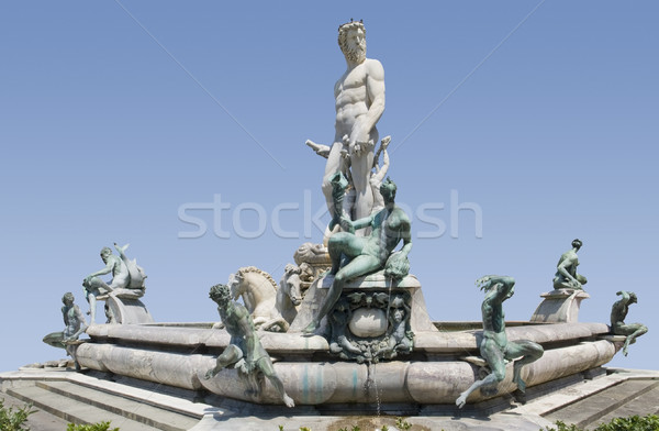Fountain of Neptune Stock photo © prill