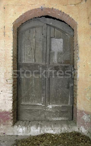 old wooden door Stock photo © prill