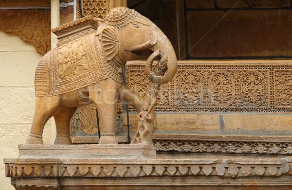 elephant sculpture Stock photo © prill