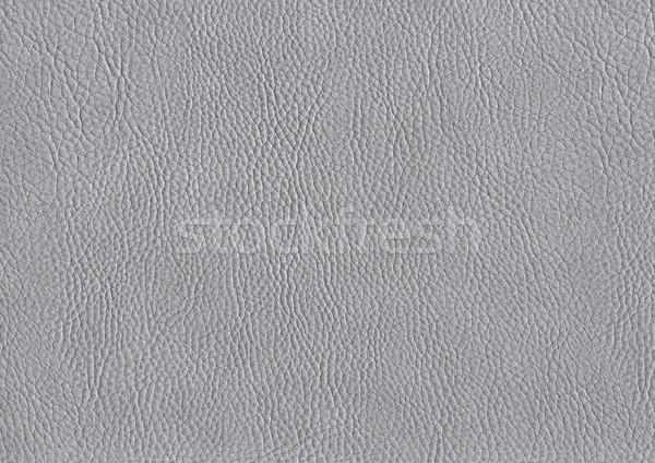 Full frame cuir résumé gris vintage vêtements Photo stock © prill