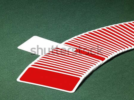 playing cards in a row Stock photo © prill