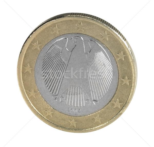 backside euro coin closeup Stock photo © prill