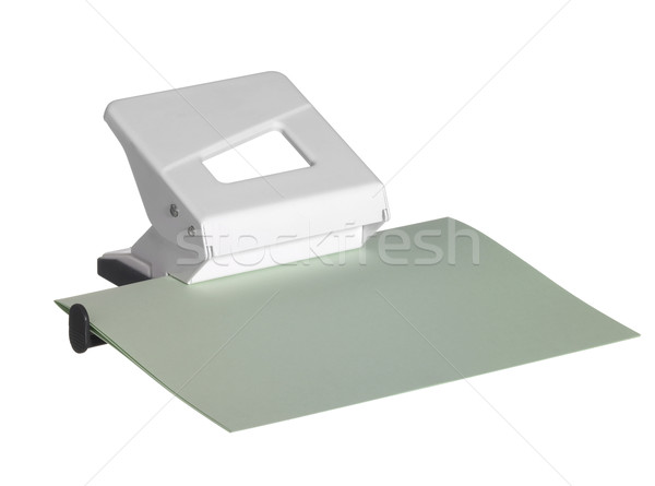 white hole puncher Stock photo © prill